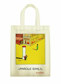 Stofftasche 'Parole Emil auf Verbrecherjagd'