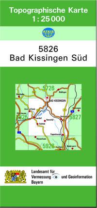 TK25 5826 Bad Kissingen Süd