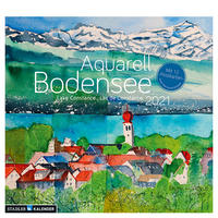 Bodensee Aquarell 2021