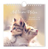 Postkartenkalender 2021 'Auf leisen Pfoten'
