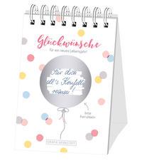 Rubbel-Tischkalender 'Glückwünsche'