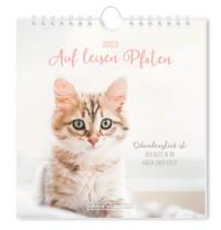 Postkartenkalender 2022 'Auf leisen Pfoten'
