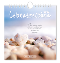 Postkartenkalender 2022 'Lebenszeichen'