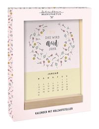 Tischkalender 2022 'Das wird mein Jahr'