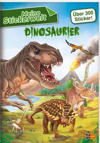 Dinosaurier - Meine Stickerwelt