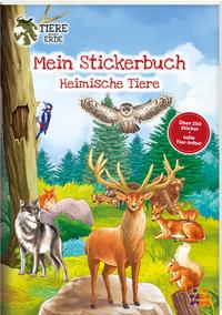 Mein Stickerbuch - Heimische Tiere