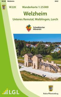 W220 Wanderkarte 1:25 000 Welzheim