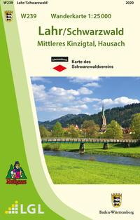 W239 Wanderkarte 1:25 000 Lahr/Schwarzwald
