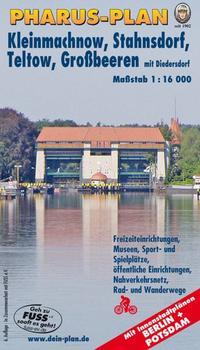 Pharus-Plan Kleinmachnow, Stahnsdorf, Teltow sowie Großbeeren mit Diedersdorf