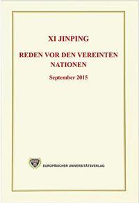 Xi Jinping - Reden vor den Vereinten Nationen - September 2015