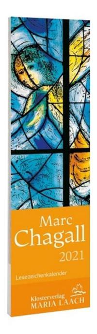 Lesezeichenkalender - Marc Chagall 2021