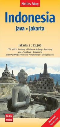 Nelles Map Landkarte Indonesia: Java, Jakarta