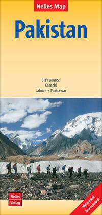 Nelles Map Landkarte Pakistan/Pakistán
