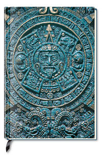 Premium Book Aztec Calendar - Notizbuch - liniert - (12 x 17)