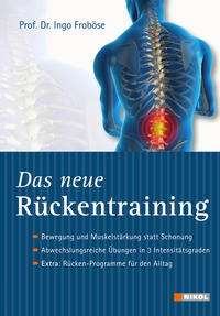 Cover:  Prof. Dr. Ingo Froböse Das neue Rückentraining