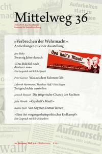 'Verbrechen der Wehrmacht'. Anmerkungen zu einer Ausstellung