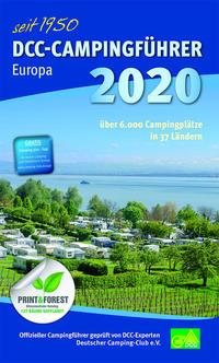 DCC-Campingführer Europa 2020