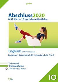 Abschluss 2020 - Mittlerer Schulabschluss Nordrhein-Westfalen Englisch