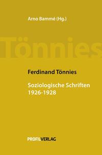 Soziologische Schriften 1926 - 1928