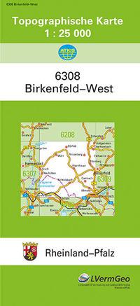 TK25 6308 Birkenfeld-West