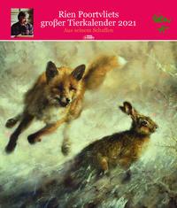 Rien Poortvliets großer Tierkalender 2021