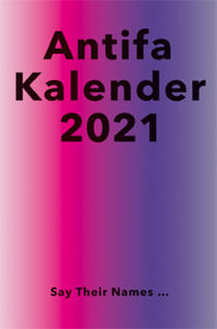 Antifaschistischer Taschenkalender 2021