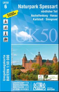 UK50-6 Naturpark Spessart nördlicher Teil