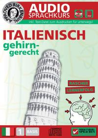 Birkenbihl Sprachen: Italienisch gehirn-gerecht, 1 Basis, Audio-Kurs