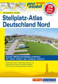 Deutschland Nord Stellplatz-Atlas 2016