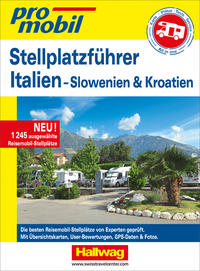 Stellplatz-Atlas Italien 2020/2021 Promobil