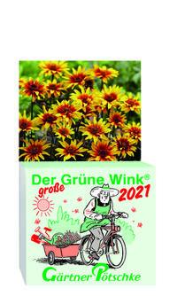 Gärtner Pötschkes 'Der große Grüne Wink' Tages-Gartenkalender 2021