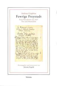 Fewrige Freystadt