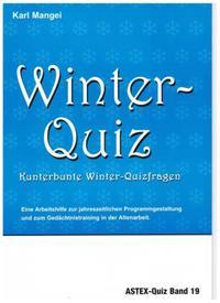 Winter-Quiz - Kunterbunte Winter-Quizfragen