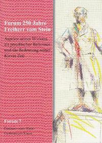 Forum 250 Jahre Freiherr vom Stein