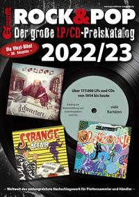 Der große Rock & Pop LP/CD Preiskatalog 2022/23