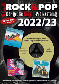 Der große Rock & Pop Single Preiskatalog 2022/23