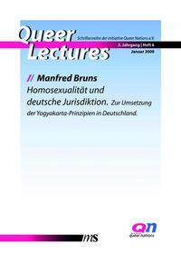 Homosexualität und deutsche Jurisdiktion