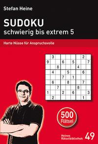 Sudoku - schwierig bis extrem 5
