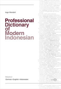 Professional Dictionary of Modern Indonesian