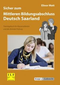 Sicher zum Mittleren Bildungsabschluss Deutsch Saarland