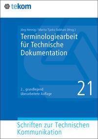 Terminologiearbeit für Technische Dokumentation - Cover