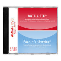 ROTE LISTE 3/2020 AMInfo-DVD - ROTE LISTE/FachInfo - Einzelausgabe