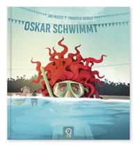 Cover: Jan Mauer Oskar schwimmt