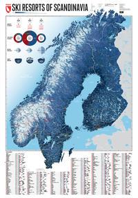 Skigebiete Skandinaviens