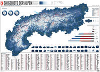 609 Skigebiete der Alpen