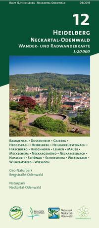 Blatt 12, Heidelberg - Neckartal-Odenwald