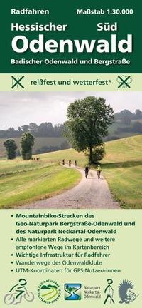 Radfahren, Hessischer Odenwald Süd / Badischer Odenwald und Bergstraße