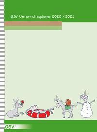 GSV Unterrichtsplaner Lehrerkalender für Grundschullehrer (DIN A4) 2020/2021
