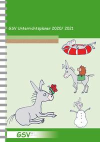 GSV Unterrichtsplaner Lehrerkalender für Grundschullehrer (DIN A5) 2020/2021