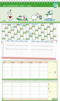 GSV Tischkalender für Grundschullehrer - Edgar, das Schaf 2020/2021